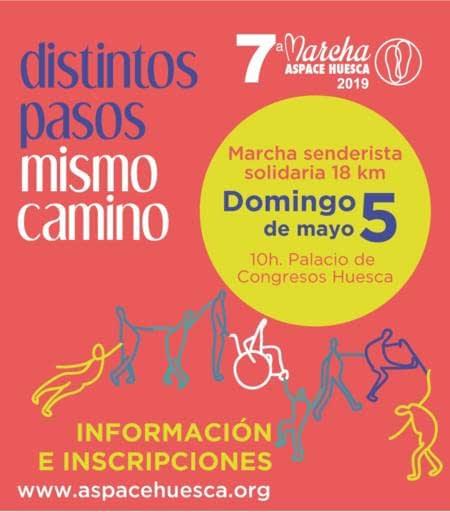 Marcha Aspace Huesca